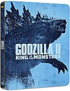 Godzilla: King of the Monsters 3D + 2D Steelbook™ Limited Collector's Edition + Gift Steelbook's™ foil (Blu-ray 3D + Blu-ray)