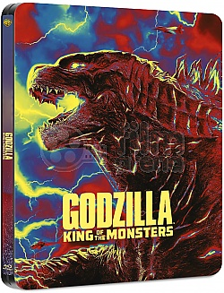 Godzilla: King of the Monsters Steelbook™ Limited Collector's Edition + Gift Steelbook's™ foil