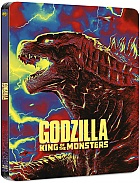 Godzilla: King of the Monsters Steelbook™ Limited Collector's Edition + Gift Steelbook's™ foil (4K Ultra HD + Blu-ray)