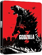 Godzilla (2014) 3D + 2D Steelbook™ Limited Collector's Edition + Gift Steelbook's™ foil (Blu-ray 3D + Blu-ray)