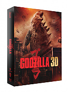 FAC #145 GODZILLA (2014) DOUBLE 3D LENTICULAR XL + LENTICULAR MAGNET 3D + 2D Steelbook™ Limited Collector's Edition - numbered (Blu-ray 3D + Blu-ray)