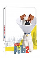 THE SECRET LIFE OF PETS 2 Steelbook™ Limited Collector's Edition + Gift Steelbook's™ foil (Blu-ray 3D + Blu-ray)