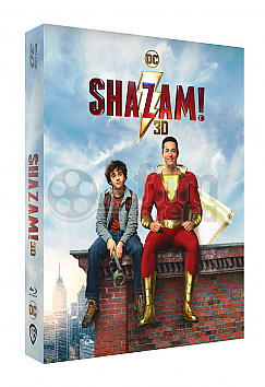 FAC #136 SHAZAM! Double 3D Lenticular FullSlip EDITION #2 3D + 2D Steelbook™ Limited Collector's Edition - numbered