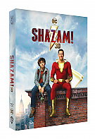 FAC #136 SHAZAM! Double 3D Lenticular FullSlip EDITION #2 3D + 2D Steelbook™ Limited Collector's Edition - numbered (Blu-ray 3D + Blu-ray)