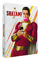 FAC #136 SHAZAM! FullSlip + Lenticular 3D Magnet EDITION #1 Steelbook™ Limited Collector's Edition - numbered (4K Ultra HD + Blu-ray)