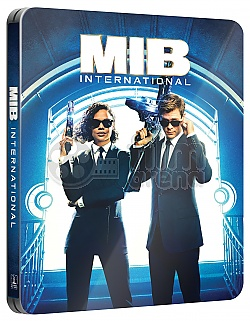 MEN IN BLACK: International Steelbook™ Limited Collector's Edition + Gift Steelbook's™ foil
