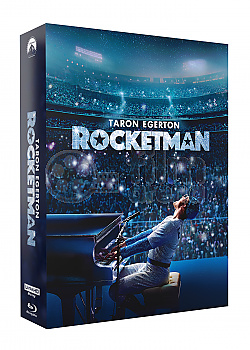 FAC #129 ROCKETMAN Lenticular 3D FullSlip XL Steelbook™ Limited Collector's Edition - numbered
