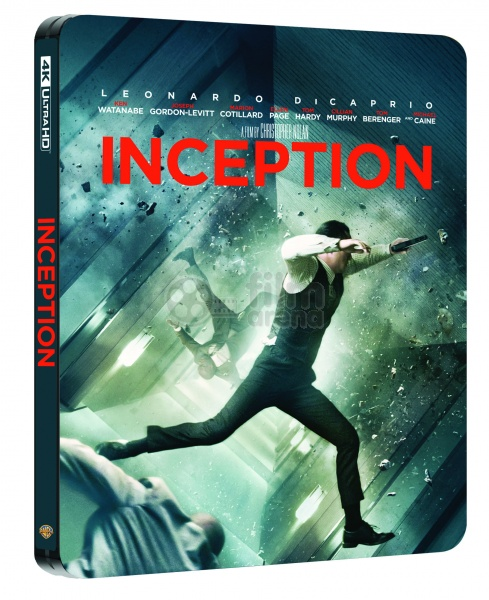 Inception Steelbook Limited Collector S Edition Gift Steelbook S Foil 4k Ultra Hd 2 Blu Ray