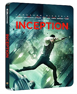 INCEPTION Steelbook™ Limited Collector's Edition + Gift Steelbook's™ foil