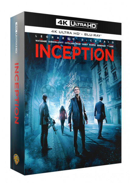 Fac 133 Inception Double 3d Lenticular Fullslip Xl Lenticular 3d Magnet Steelbook Limited Collector S Edition Numbered 4k Ultra Hd 2 Blu Ray