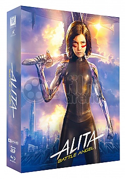 BLACK BARONS #21 ALITA: BATTLE ANGEL FullSlip XL + Lenticular 3D Magnet EDITION #1 3D + 2D Steelbook™ Limited Collector's Edition - numbered