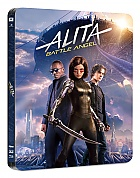 BLACK BARONS #21 ALITA: BATTLE ANGEL Edition #3 WEA Exclusive 3D + 2D Steelbook™ Limited Collector's Edition - numbered (4K Ultra HD + Blu-ray 3D + 2 Blu-ray)