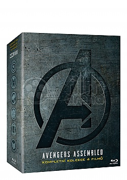 THE AVENGERS 1 - 4 Collection