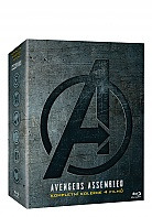 THE AVENGERS 1 - 4 Collection (4 Blu-ray)