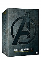 THE AVENGERS 1 - 4 Collection (4 DVD)