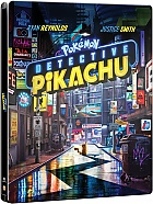 Pokémon: Detective Pikachu 3D + 2D Steelbook™ Limited Collector's Edition + Gift Steelbook's™ foil (4K Ultra HD + Blu-ray 3D + Blu-ray)