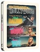 ONCE UPON A TIME IN HOLLYWOOD + Exclusive GIFT POSTCARDS and BOOKLET Steelbook™ Limited Collector's Edition + Gift Steelbook's™ foil (4K Ultra HD + Blu-ray)