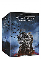 Game of Thrones: The Complete 1 - 8 Season Collection Limited Collector's Edition Gift Set (36 Blu-ray)