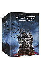 Game of Thrones: The Complete 1 - 8 Season Collection Limited Collector's Edition Gift Set (38 DVD)