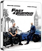 Fast & Furious Presents: Hobbs & Shaw Steelbook™ Limited Collector's Edition + Gift Steelbook's™ foil (Blu-ray 3D + Blu-ray)