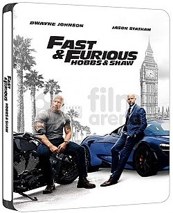 Fast & Furious Presents: Hobbs & Shaw Steelbook™ Limited Collector's Edition + Gift Steelbook's™ foil