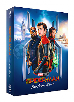 FAC #128 SPIDER-MAN: Far From Home FULLSLIP XL + LENTICULAR 3D MAGNET Edition #1 WEA Exclusive Steelbook™ Limited Collector's Edition - numbered