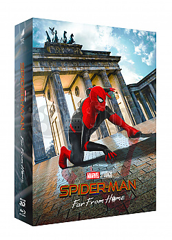 FAC #128 SPIDER-MAN: Far From Home DOUBLE 3D LENTICULAR FULLSLIP XL Edition #2 WEA Exclusive Steelbook™ Limited Collector's Edition - numbered