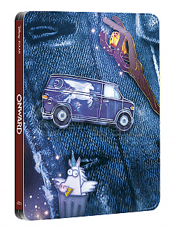 ONWARD Steelbook™ Limited Collector's Edition + Gift Steelbook's™ foil