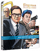 Kingsman: The Secret Service WWA by Dave Gibbons Generic Steelbook™ Limited Collector's Edition (Blu-ray)