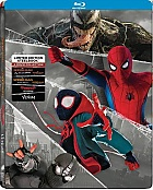 SPIDER-MAN + VENOM (4-Movie Collection) Steelbook™ Limited Collector's Edition + Gift Steelbook's™ foil (4 Blu-ray)
