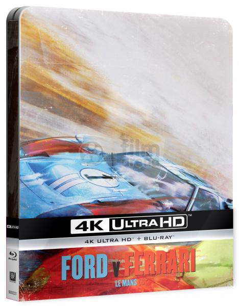 Ford V Ferrari Steelbook Limited Collector S Edition Gift Steelbook S Foil 4k Ultra Hd Blu Ray