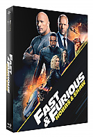 FAC #130 FAST & FURIOUS Presents: HOBBS & SHAW FullSlip + Lenticular 3D Magnet Steelbook™ Limited Collector's Edition - numbered (Blu-ray 3D + Blu-ray)