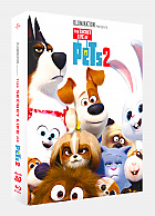 FAC #131 THE SECRET LIFE OF PETS 2 Lenticular 3D FullSlip XL Steelbook™ Limited Collector's Edition - numbered (Blu-ray 3D + Blu-ray)