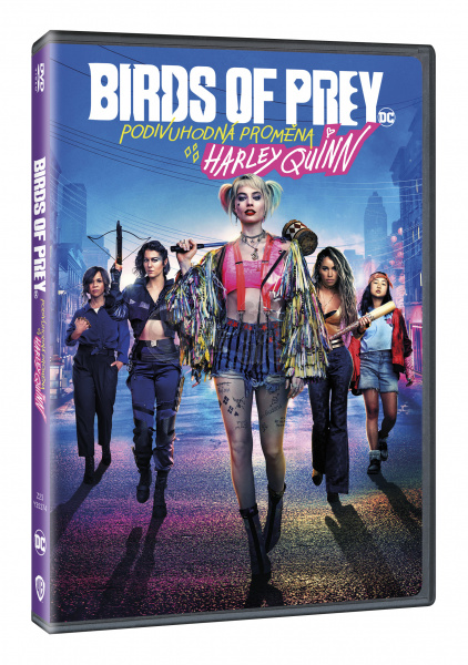 Birds Of Prey And The Fantabulous Emancipation Of One Harley Quinn Dvd