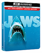 JAWS 4K Ultra HD Steelbook™ Limited Collector's Edition + Gift Steelbook's™ foil (4K Ultra HD + Blu-ray)