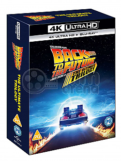 BACK TO THE FUTURE - 35th Anniversary Edition Collection Digipack