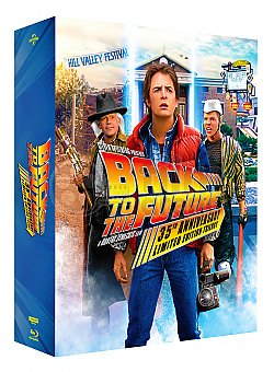 BACK TO THE FUTURE - 35th Anniversary Edition LENTICULAR 3D SLIPCASE Steelbook™ Collection Limited Collector's Edition