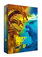 FAC #146 GODZILLA: King of the Monsters Lenticular 3D FullSlip XL EDITION #2 Steelbook™ Limited Collector's Edition - numbered (Blu-ray 3D + Blu-ray)