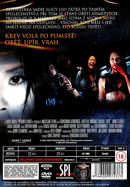 Rise Blood Hunter Dvd