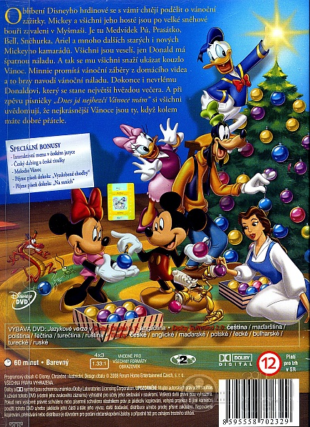 mickeys magical christmas snowed in at the house of mouse dvd - Mickey Magical Christmas Snowed In At The House Of Mouse