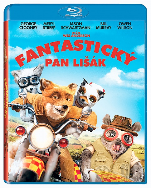 Fantastic Mr Fox Blu Ray