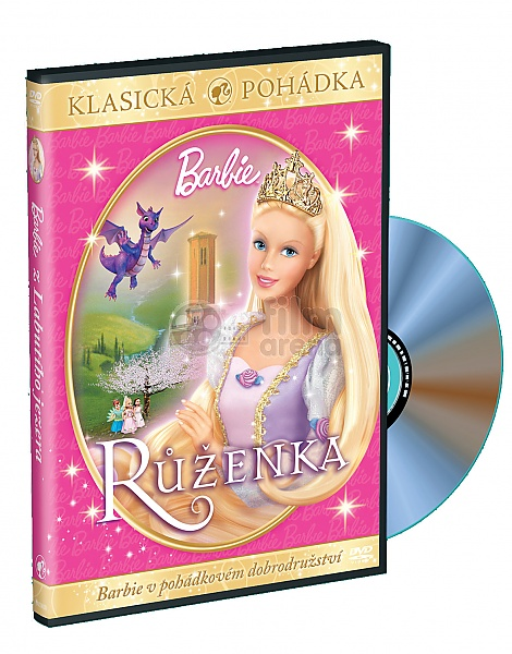 barbie as rapunzel dvd