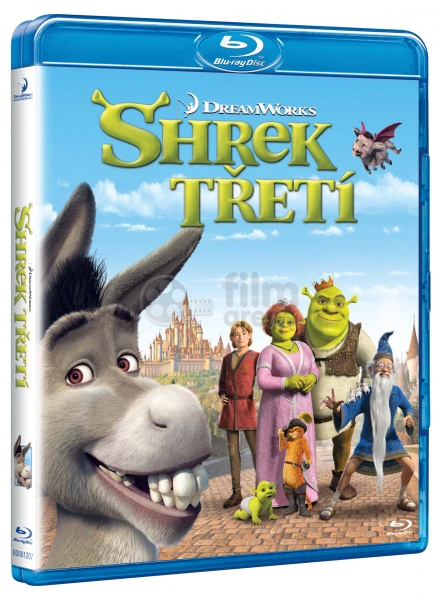 Shrek The Third Blu Ray