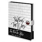 NOTEBOOK PINK FLOYD - The Wall A5 (Merchandise)
