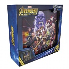 LIGHT IMAGE AVENGERS INFINITY WAR 25 X 25 CM (Merchandise)