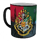 MUG HARRY POTTER  - Hogwarts coat of arms changing 295 ml (Merchandise)