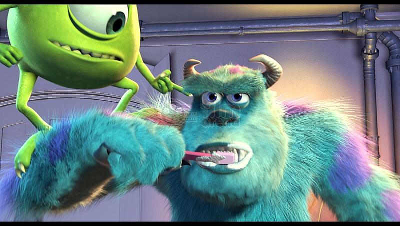Monsters, Inc  (Blu-ray)